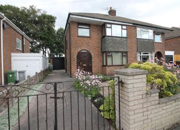 Thumbnail 3 bed semi-detached house for sale in Russell Road, Partington, Manchester