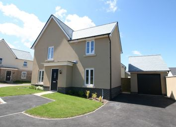 Thumbnail 4 bed detached house to rent in Capra Close, Newton Abbot