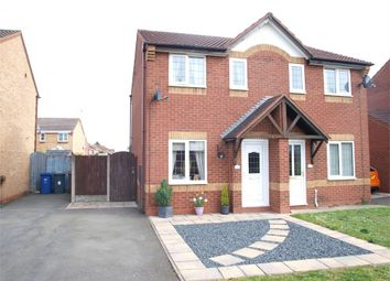 Thumbnail 2 bed semi-detached house for sale in Fontwell Road, Branston, Burton-On-Trent, Staffordshire