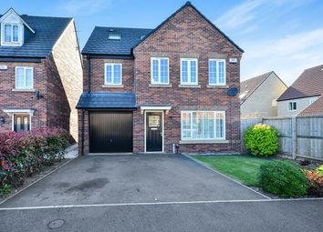 Thumbnail 4 bed detached house for sale in Knitters Road, South Normanton, Alfreton