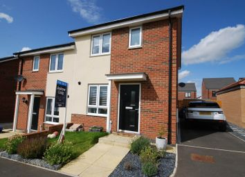 Thumbnail 3 bed semi-detached house for sale in Osprey Walk, Newcastle Upon Tyne