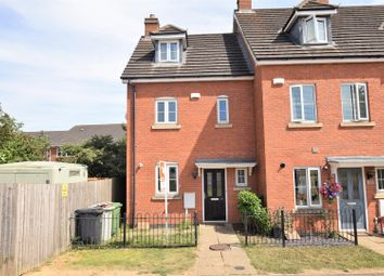 Thumbnail 3 bed town house for sale in Mallard Court, Oakham