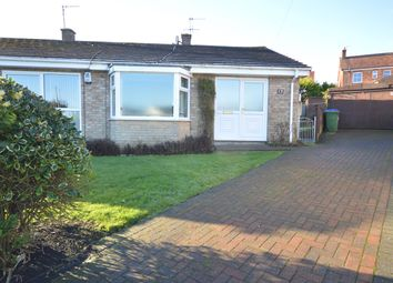 Thumbnail 2 bedroom semi-detached bungalow to rent in Rowedale Close, Hunmanby, Filey