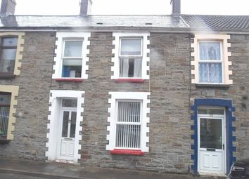 Thumbnail 3 bed terraced house to rent in Glanlay Street, Penrhiwceiber, Mountain Ash