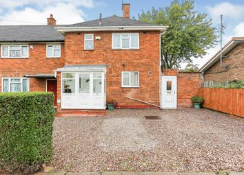 Thumbnail 3 bed end terrace house for sale in Packington Avenue, Shard End, Birmingham