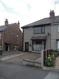 Thumbnail 2 bed semi-detached house to rent in Kingsway, Heanor, Derbyshire