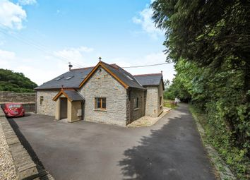 Thumbnail 4 bed detached house for sale in Leckwith Road, Llandough, Penarth