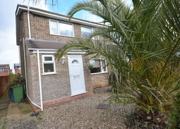 Thumbnail 3 bedroom semi-detached house for sale in Darsham Vale, Lowestoft