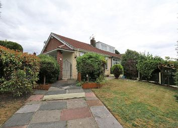Thumbnail 2 bed semi-detached bungalow for sale in Gloucester Road, Alkrington Village, Middleton, Manchester, Greater Manchester
