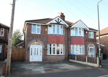Thumbnail 4 bed semi-detached house for sale in Gerrard Avenue, Timperley, Altrincham