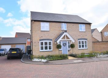 Thumbnail 4 bed detached house for sale in Ascot Close, Barleythorpe, Oakham