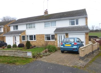 Thumbnail 3 bed semi-detached house for sale in Winston Close, Nether Heyford, Northamptonshire