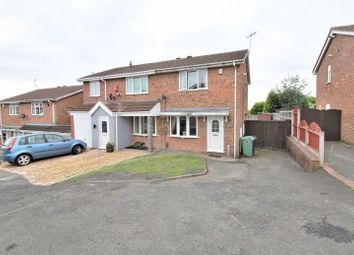Thumbnail 2 bed semi-detached house to rent in Brelades Close, Dudley