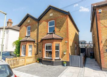 Thumbnail 3 bed semi-detached house for sale in Albany Road, Hersham, Walton-On-Thames
