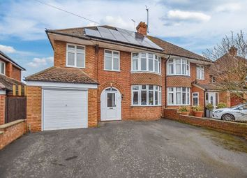 Thumbnail 4 bed semi-detached house for sale in Broughton Avenue, Aylesbury