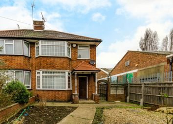 Thumbnail 3 bed semi-detached house for sale in Carlyon Road, Alperton
