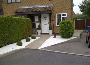 Thumbnail 2 bed semi-detached house to rent in Armscote Close, Oakwood, Oakwood, Derby