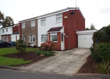 Thumbnail 3 bed semi-detached house for sale in Mevagissey Road, Brookvale, Runcorn, Cheshire