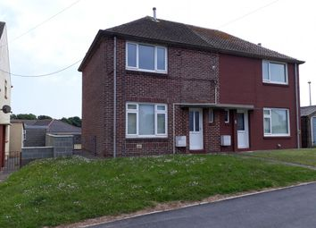 Thumbnail Semi-detached house to rent in Gelliswick Road, Hakin, Milford Haven