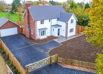 Thumbnail 4 bed detached house for sale in Woodlands Close, Onehouse, Stowmarket