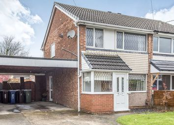 Thumbnail 3 bed semi-detached house for sale in Sturton Avenue, Wigan