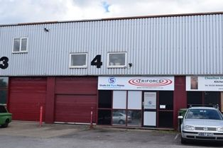 Thumbnail Light industrial to let in Redfields Industrial Park, Church Crookham