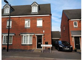 Thumbnail 4 bed semi-detached house for sale in Long Swath Way, Birstall