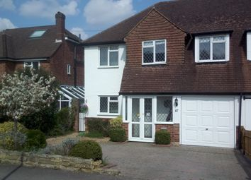 Thumbnail 3 bed semi-detached house for sale in Hillside Road, Ashtead, Surrey