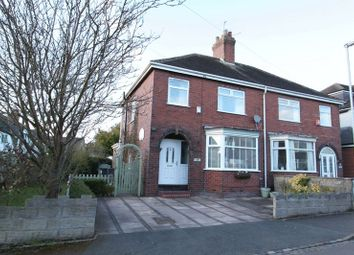 Thumbnail 3 bed semi-detached house for sale in Court Lane, Newcastle-Under-Lyme