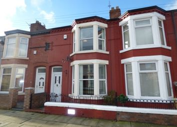 Thumbnail 3 bedroom terraced house to rent in Hanford Avenue, Walton, Liverpool