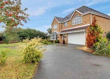 Thumbnail 5 bed detached house for sale in Calder Drive, Snaith, Goole