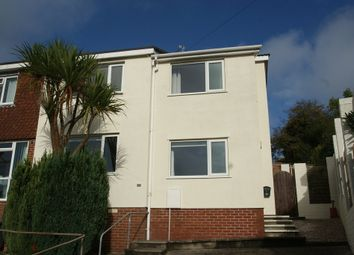 Thumbnail 3 bed end terrace house for sale in Waterleat Avenue, Paignton
