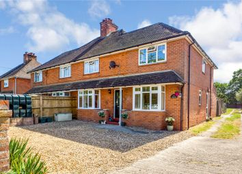Thumbnail 4 bed semi-detached house for sale in Aldermaston Road, Pamber End, Tadley, Hampshire