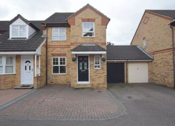 Thumbnail 3 bed end terrace house for sale in Archford Croft, Emerson Valley, Milton Keynes