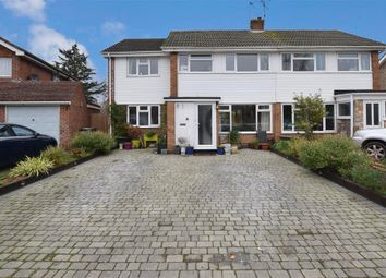 Thumbnail 4 bedroom semi-detached house for sale in Brookfield Avenue, Larkfield, Aylesford, Kent