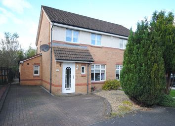 Thumbnail 3 bed semi-detached house for sale in Dalrymple Drive, Coatbridge