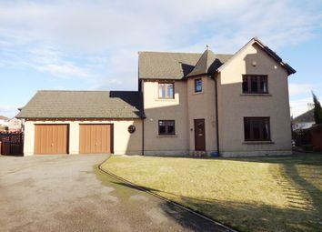 Thumbnail 4 bed detached house for sale in 41 Brucelands, Elgin