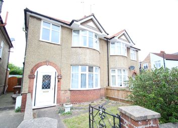 Thumbnail 3 bed semi-detached house for sale in Thetford Road, Ipswich