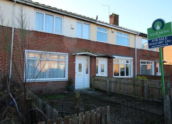 Thumbnail 2 bed terraced house for sale in Tithe Barn Road, Stockton-On-Tees