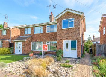 Thumbnail 3 bed semi-detached house for sale in Carron Drive, Werrington Village, Peterborough