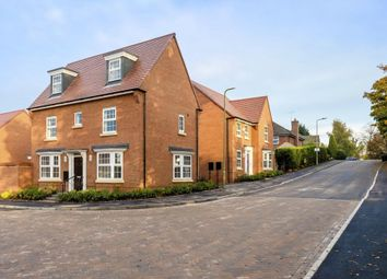 "Thumbnail 4 bed detached house for sale in ""Hertford"" at Wellfield Way, Whitchurch"