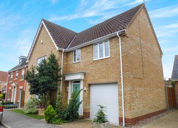 Thumbnail 4 bed detached house for sale in Burlingham Drive, Carlton Colville, Lowestoft