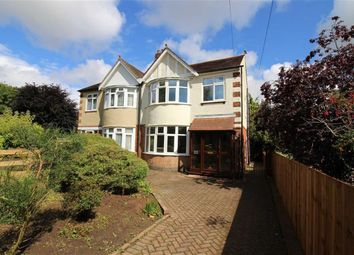 Thumbnail 3 bedroom semi-detached house for sale in Duffield Road, Darley Abbey, Derby