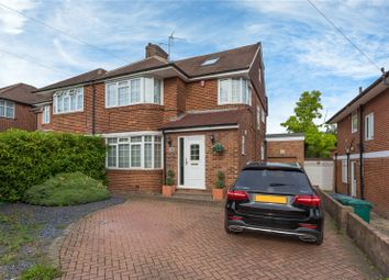 Thumbnail 4 bed semi-detached house for sale in Edgwarebury Lane, Edgware