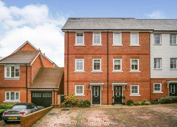 Macmillan Road, Dunton Green, Sevenoaks TN14. 3 bed end terrace house for sale
