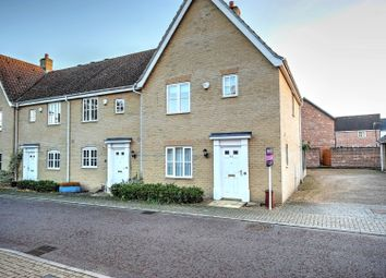 Thumbnail 3 bed end terrace house for sale in Doune Way, Harleston