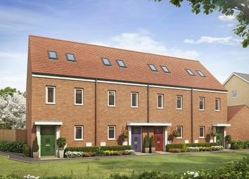 "Thumbnail 3 bed terraced house for sale in ""The Moseley"" at Easter, Axial Way, Colchester"