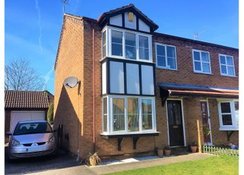 Thumbnail 3 bed semi-detached house for sale in Cotton-Smith Way, Nettleham, Lincoln
