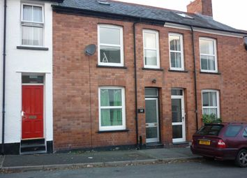 Thumbnail 2 bed terraced house to rent in Edgehill Road, Aberystwyth