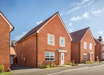 "Thumbnail 4 bed detached house for sale in ""Chertsey"" at Torry Orchard, Marston Moretaine, Bedford"